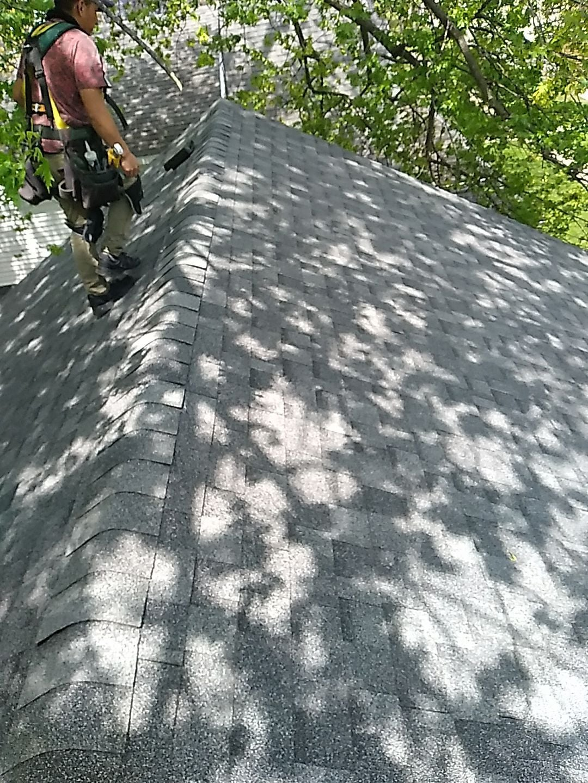 Calumet River Construction, roofing job
